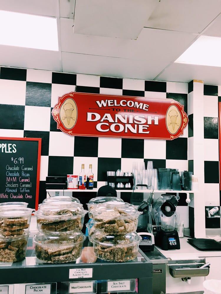 The Danish Cone Factory: 191 W Elkhorn Ave, Estes Park, CO
