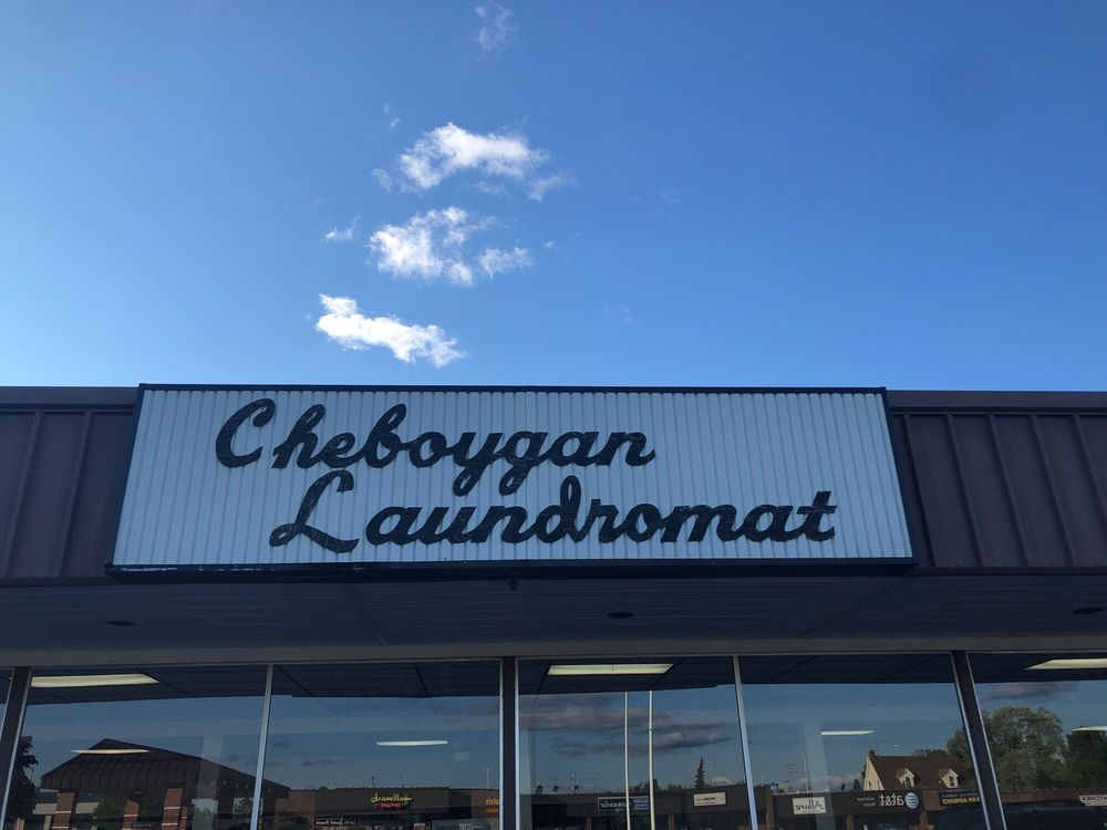 Cheboygan Laundromat and Dry Cleaners: 922 S Main St, Cheboygan, MI