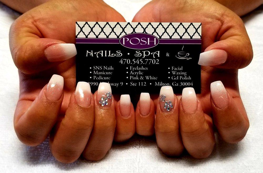Posh Nails, Spa & Coffee: 12990 Hwy 9, Alpharetta, GA