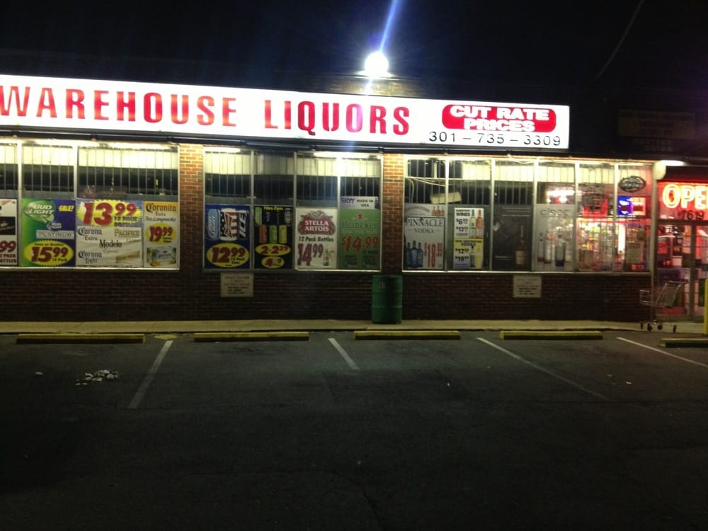 Warehouse Liquors: 7619 Marlboro Pike, District Heights, MD