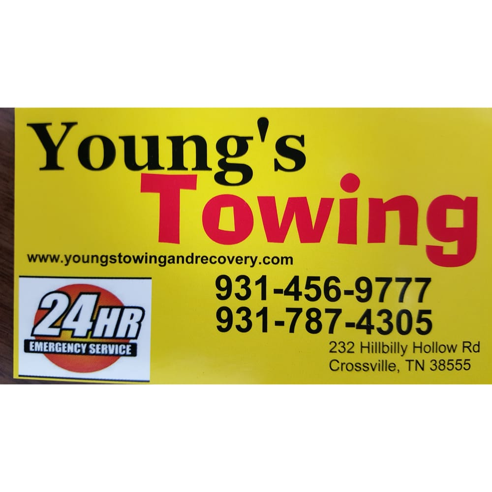 Young's Towing & Recovery: 232 Hillbilly Hollow Rd, Crossville, TN