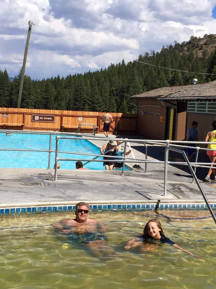 Photo of Grover Hot Springs - Markleeville, CA, United States. The pools.