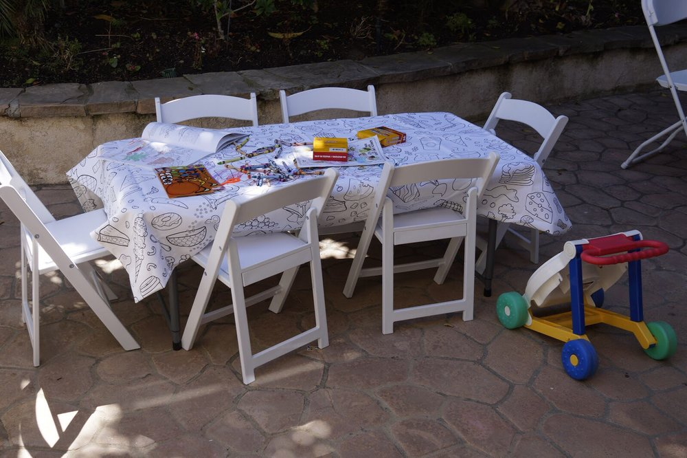 Great Tables And Chairs For Kids And Adults Yelp - Picnic table rentals los angeles