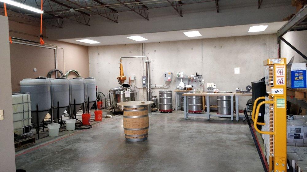Grateful Dane Distilling: 5250 Gulfton St, Houston, TX