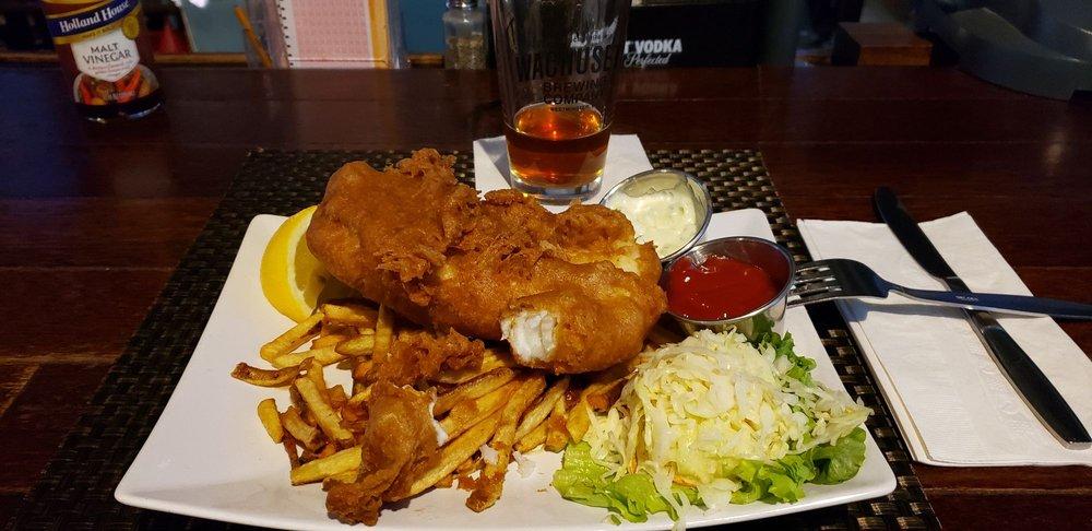 Food from Slattery's Back Room Restaurant