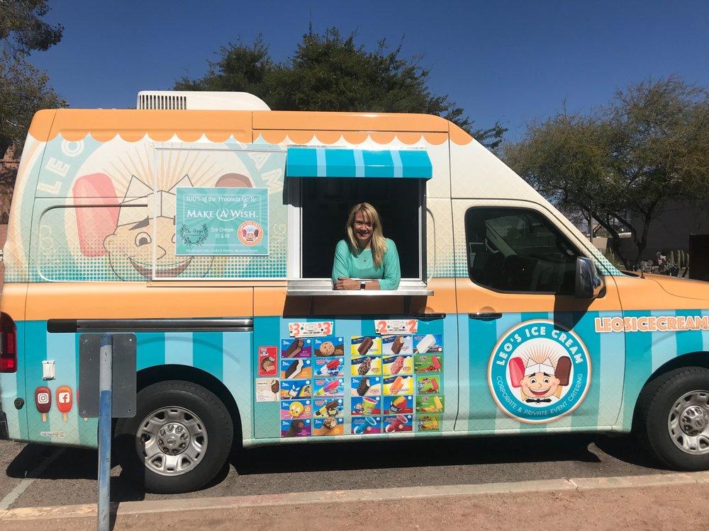 Leo's Ice Cream: 4839 E Mulberry Dr, Phoenix, AZ