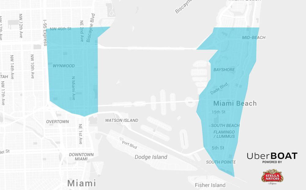 Uberboat: Miami, FL