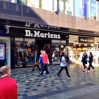 in stock lowest discount undefeated x Dr. Martens - Shoe Shops - 50 Sauchiehall Street, City ...