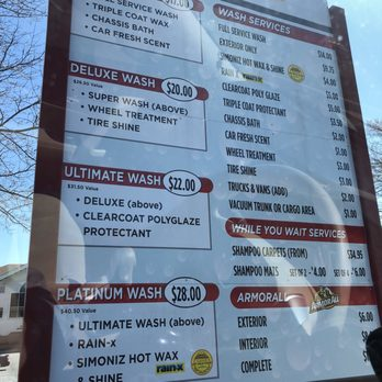 Embassy Car Wash Sterling Coupons