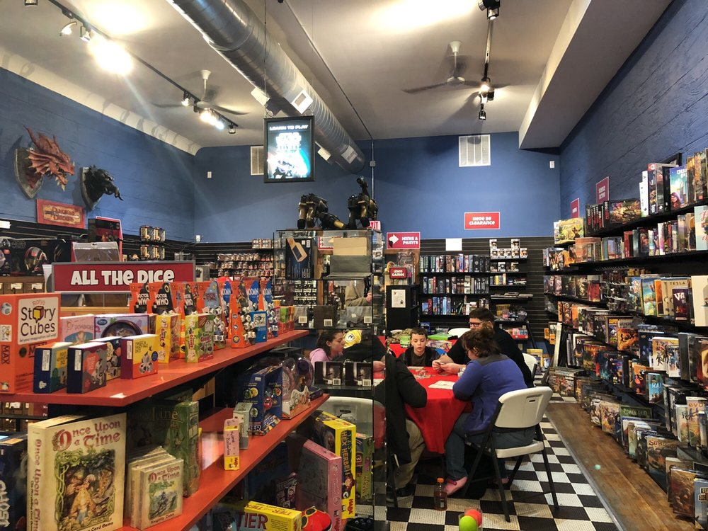 Red Raccoon Games: 309 N Main St, Bloomington, IL
