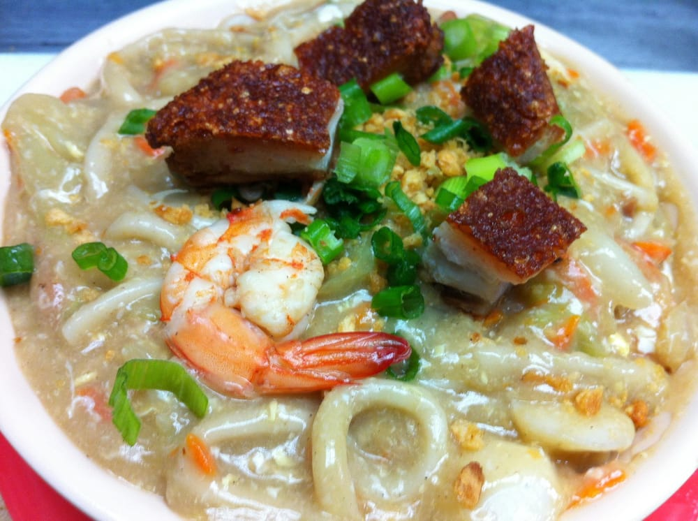 Special lomi only at planet pansit yelp for Pf changs garden walk