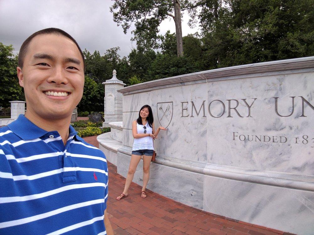 Emory University: 201 Dowman Dr, Atlanta, GA