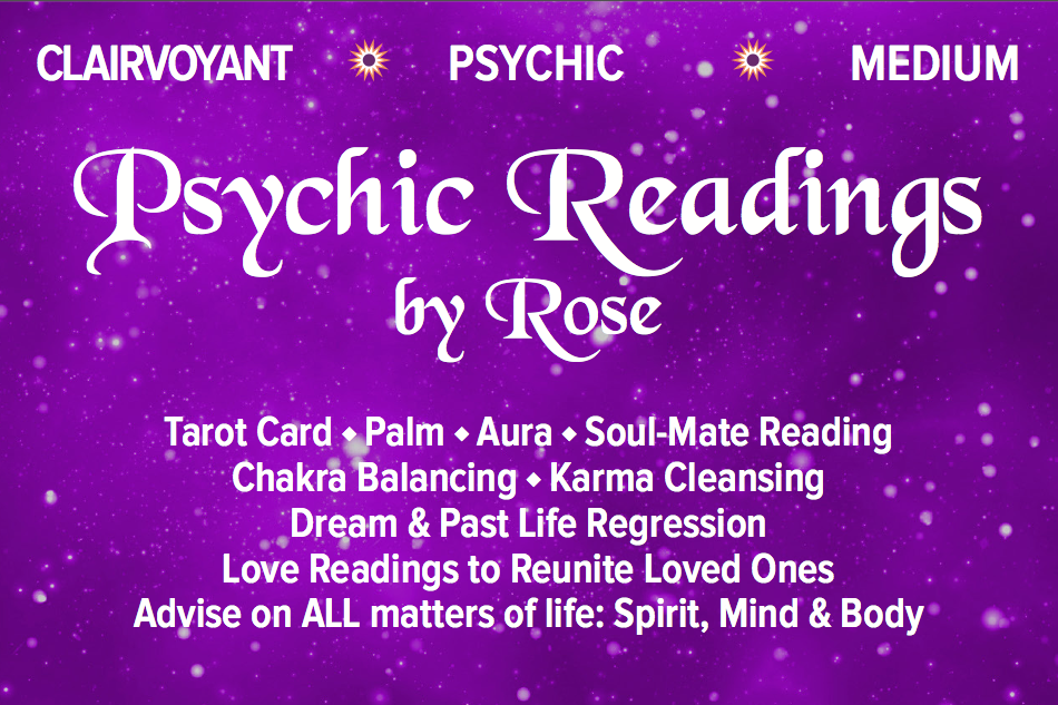 Psychic Readings by Rose in Woodstock  Providing highly specific
