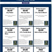 graphic relating to Long John Silver's Printable Coupons called Lengthy john silvers coupon codes johnstown pa - Tradetang coupon code