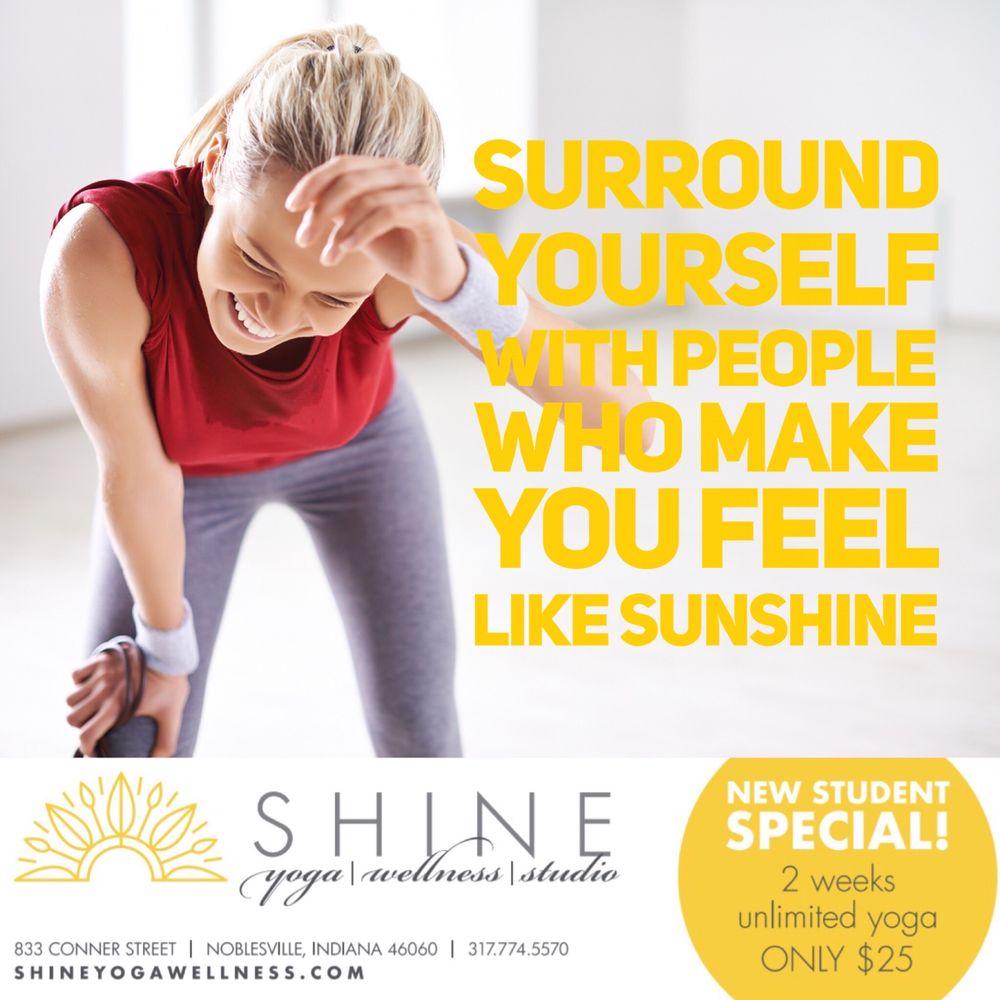 Shine Yoga & Wellness Studio: 833 Conner St, Noblesville, IN