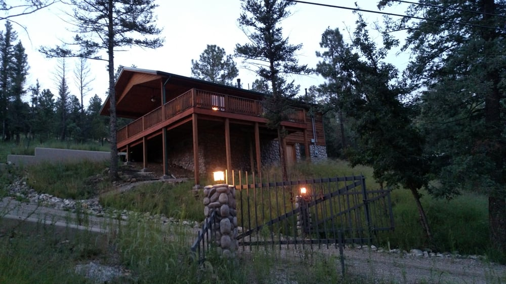 media cabin riverside facebook campfire id nm ruidoso shared s in destinyluxuryrental post cabins home