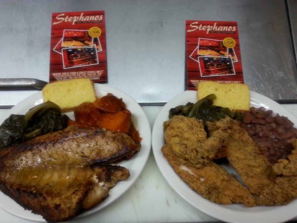 Stephanos Soul Food Restaurant Vallejo Ca