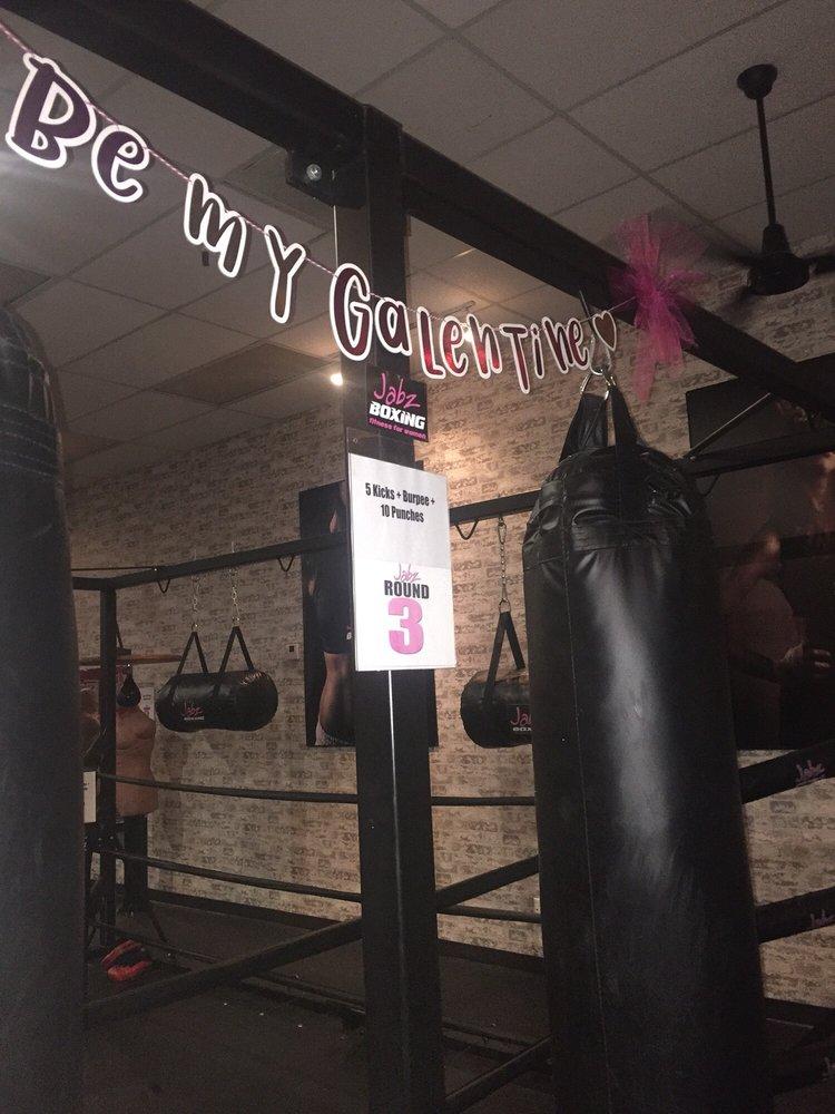 贾布兹女子拳击健身