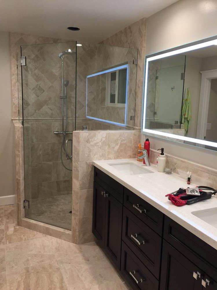 Bon Photo Of Econo Glass   Fremont, CA, United States. Master Bathroom With Two