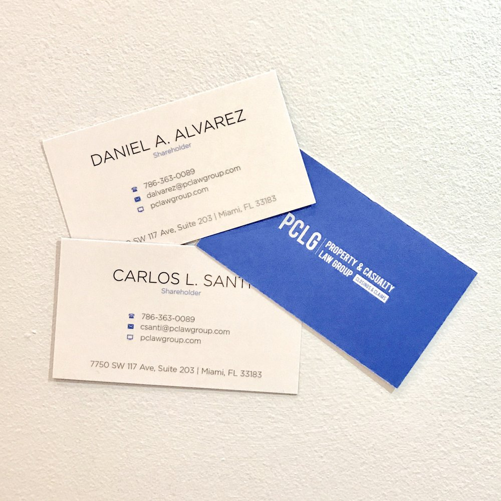 Clean, modern business cards speak for themselves! - Yelp