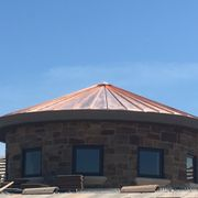 Standing Seam Metal Over Photo Of Pruden Roofing   Stockton, CA, United  States. Copper Panels Custom Made ...