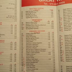 Menu For Cafe Italia Pittston Pa