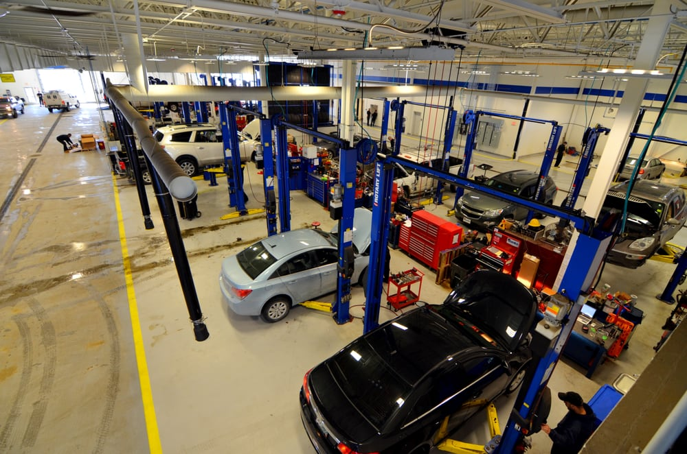 Banks Chevrolet Concord Nh >> Our Service Department Has Over 50 Bays Plus A Quick Lube