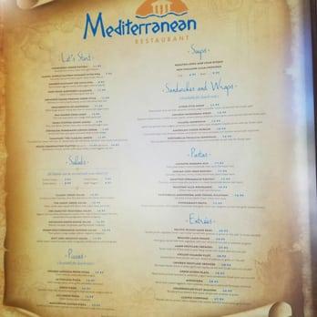 Mediterranean restaurant 187 photos 163 reviews for Mediterranean restaurant menu