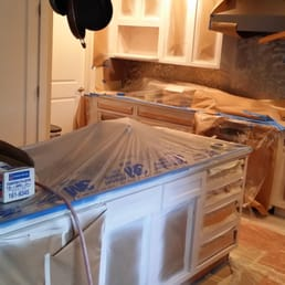 photo of painting kitchen cabinets denver denver co united states cabinet refinishing