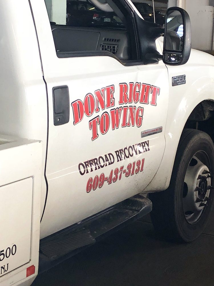 Done Right Towing: 1329 W Belladonna Ave, Egg Harbor City, NJ