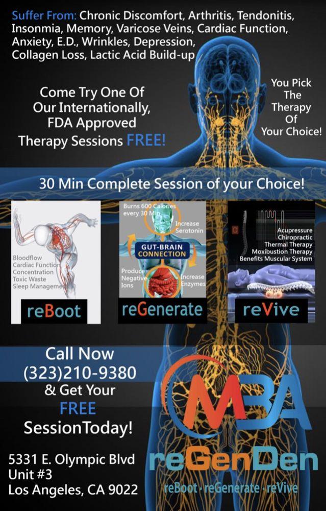 reGenDen-MBA: 5331 E Olympic Blvd, East Los Angeles, CA