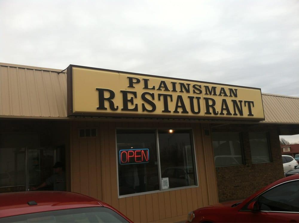 Plainsman Restaurant: I 35 & Hwy 11, Blackwell, OK