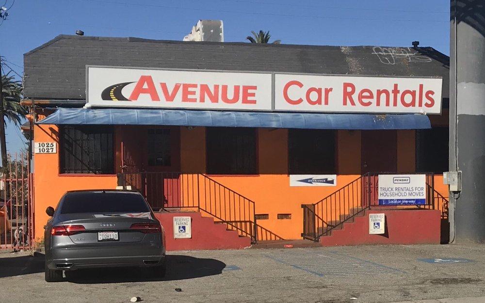 Avenue Car Rental 18 Reviews Car Rental 1025 Crenshaw Blvd