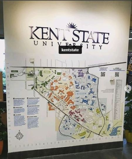 Florida State University Campus Map.Vms Specializes In Wide Format Graphics Like This Campus Map Wall