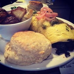 Photo Of Over Easy Cafe Asheville Nc United States Carolina Bison Omelet