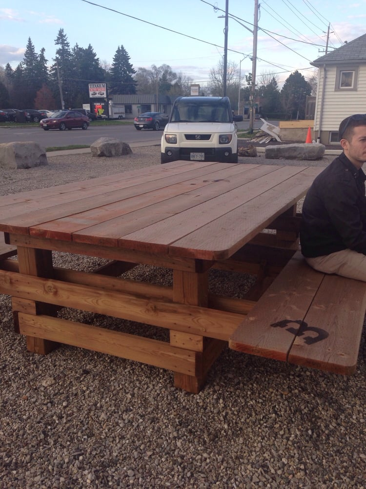 Huge Picnic Table Fit For A Family Of Yelp - Huge picnic table
