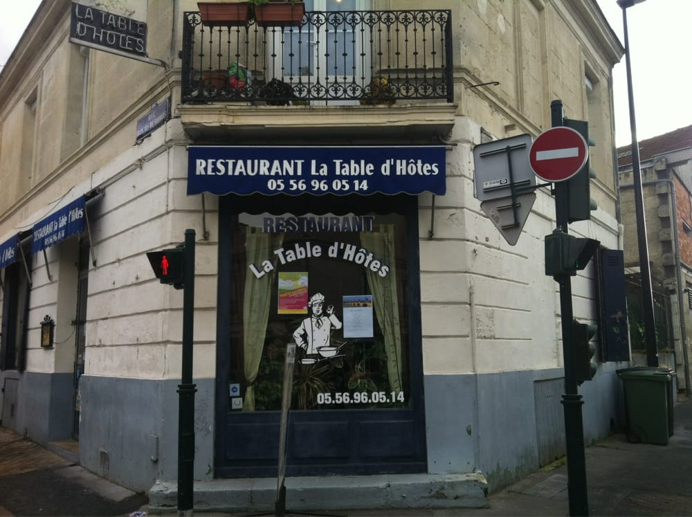 Restaurant a la table d h tes fransk 77 rue fran ois - Restaurant la table de bruno saint maximin ...