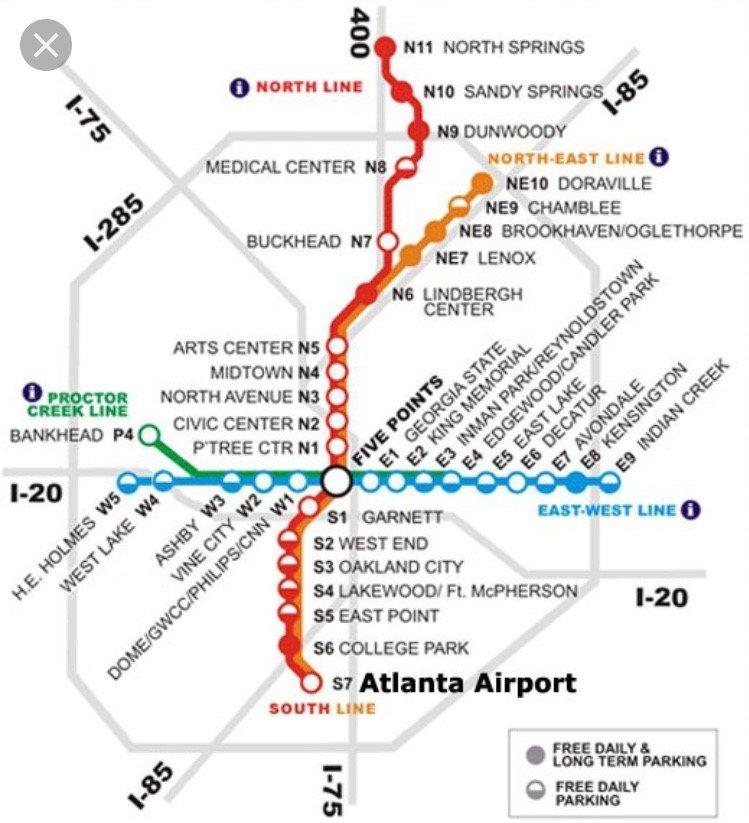 Marta Station Map Yelp