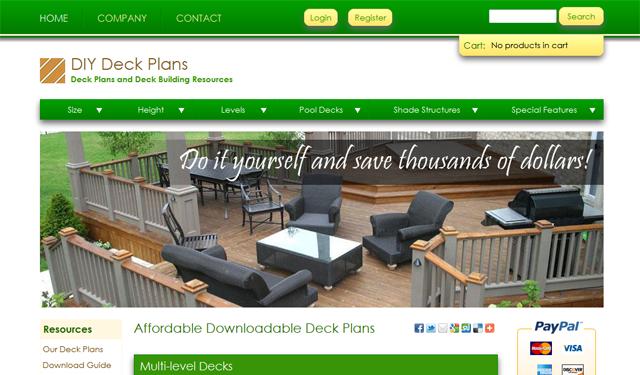 Diy Deck Plans Offers Professional Deck Plans For The Do It