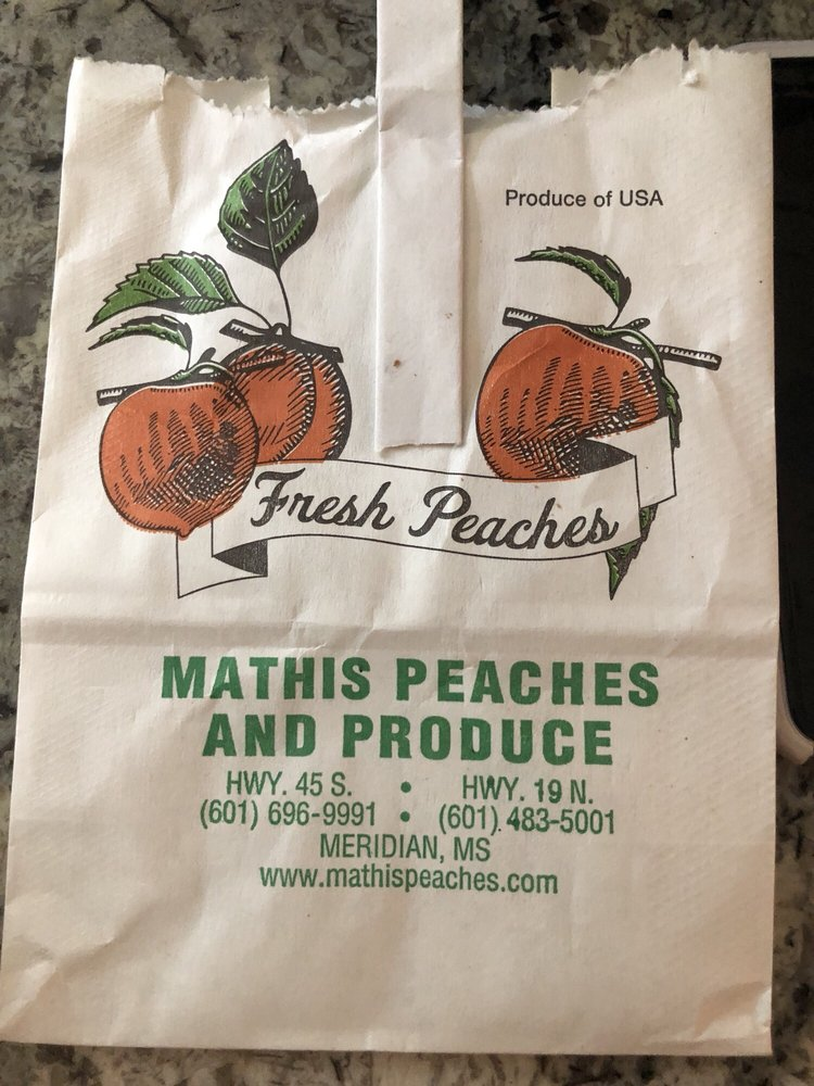 Mathis Peaches: 6495 Cricket Rd, Meridian, MS