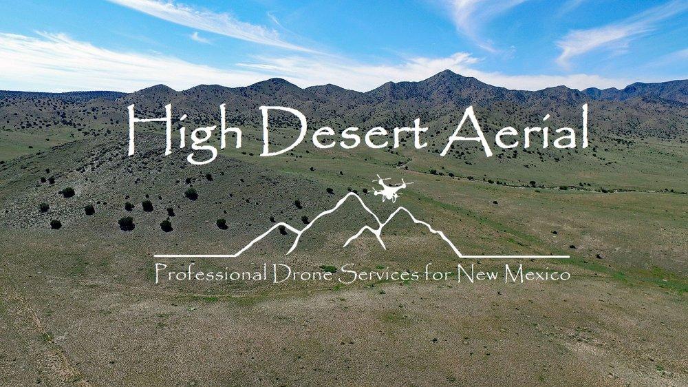 High Desert Aerial: Belen, NM