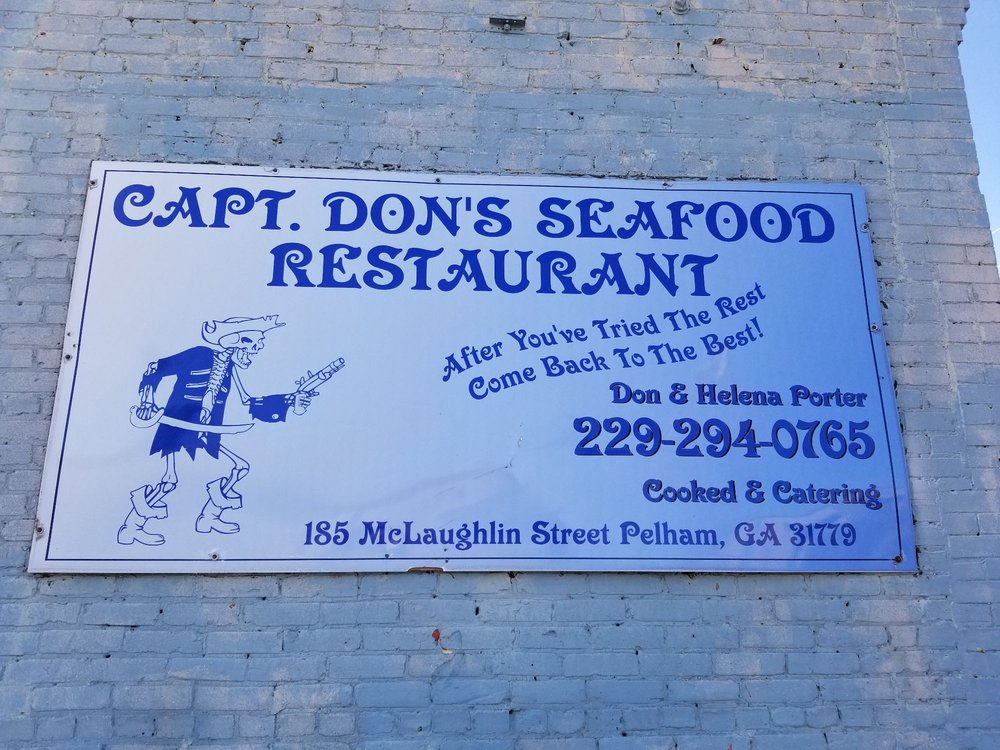 Captain Don Porter's Seafood: 185 McLaughlin St SW, Pelham, GA