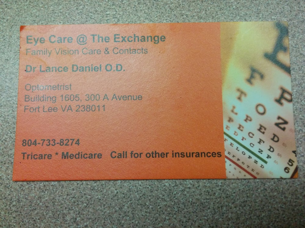 Optometry Care - Optometrists - 300 A Ave, Fort Lee, VA - Phone ...