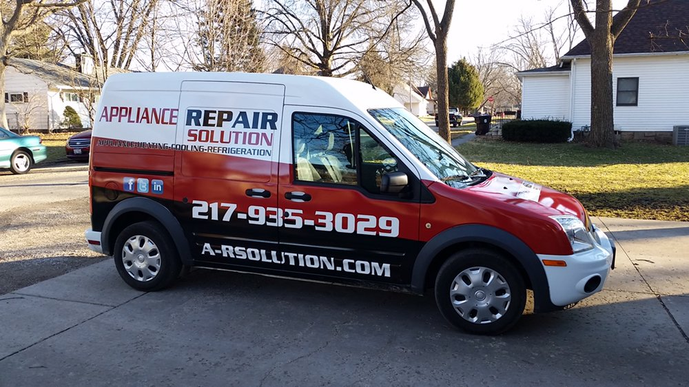 Appliance Repair Solution: 521 N Linden, Clinton, IL