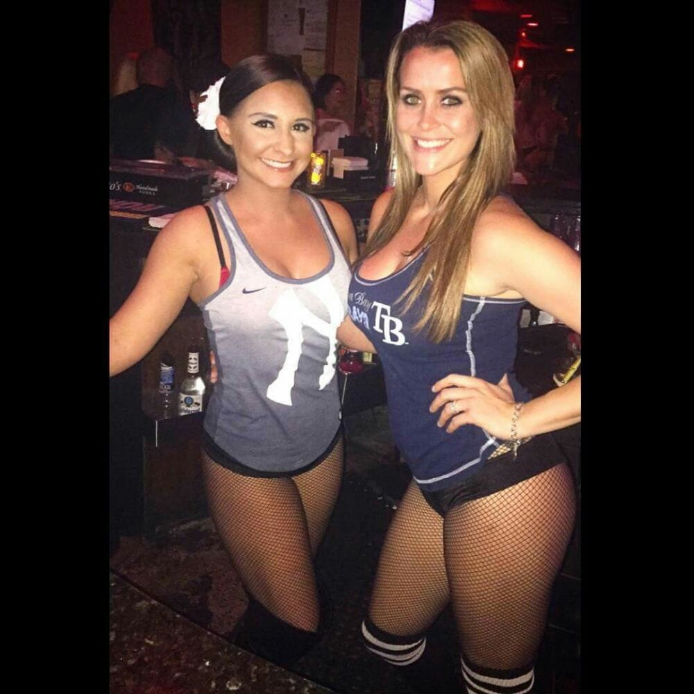 Sara And Ashley Two Of Our Bartenders Waitresses Yelp
