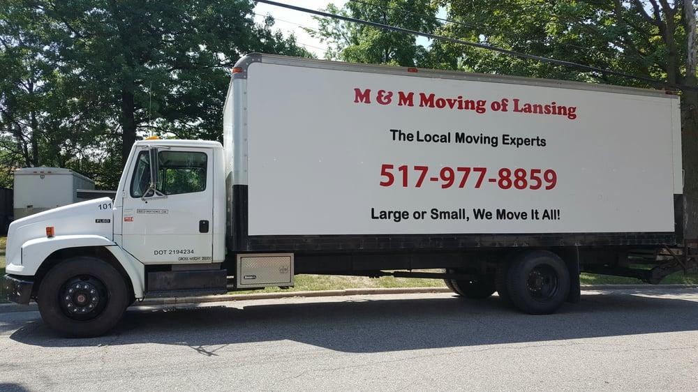 M & M Moving of Lansing: 9426 Billwood Hwy, Dimondale, MI