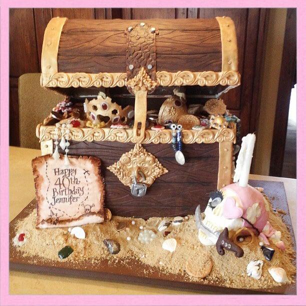Treasure Chest Cake Yelp - Birthday cakes encinitas