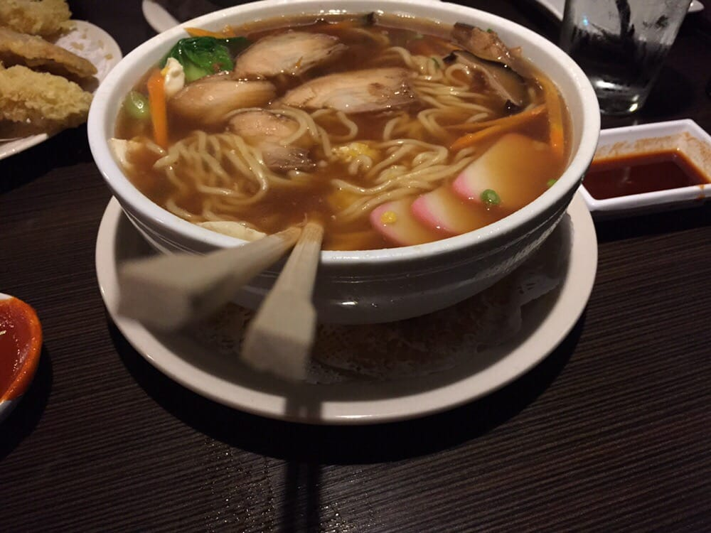 Decent ramen better sushi very good selection of rolls for Where to buy sashimi grade fish near me