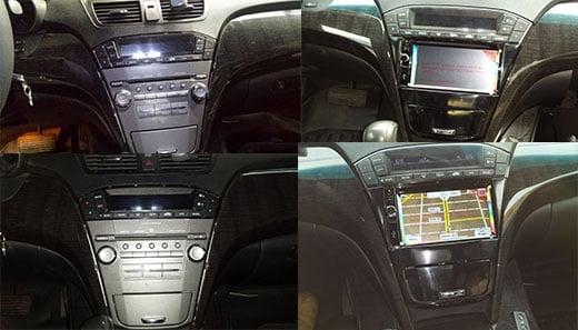 Acura Mdx 2009 Custom Radio Dvd Gps With Backup Camnice Upgrade Rhyelp: 2007 Acura Tl Radio Nd At Gmaili.net