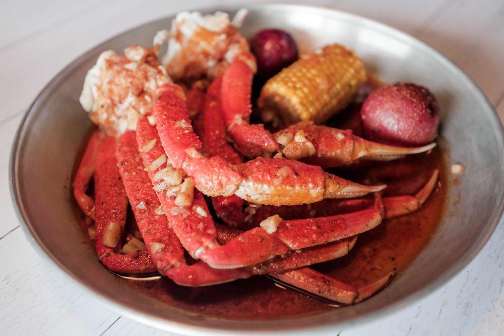 Food from Hook & Reel Cajun Seafood & Bar
